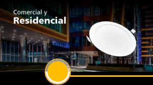 iluminación comercial y residencial
