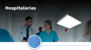 iluminación hospitalaria