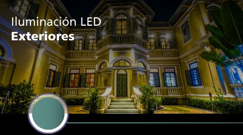 iluminación led exteriores