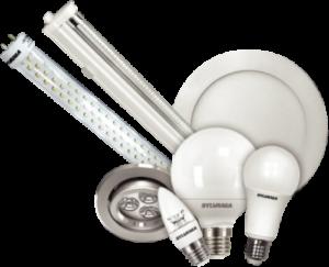 luminarias y lamparas led